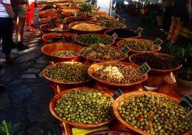 Les marchés en Corse
