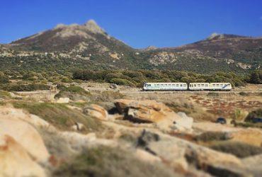 Se déplacer en train en Corse